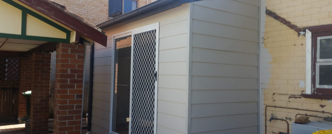Roof Repair and Laundry Reno at Cleary Street Hamilton Newcastle