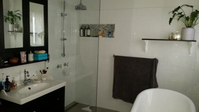Bathroom renovation Forbes St Carrington Newcastle