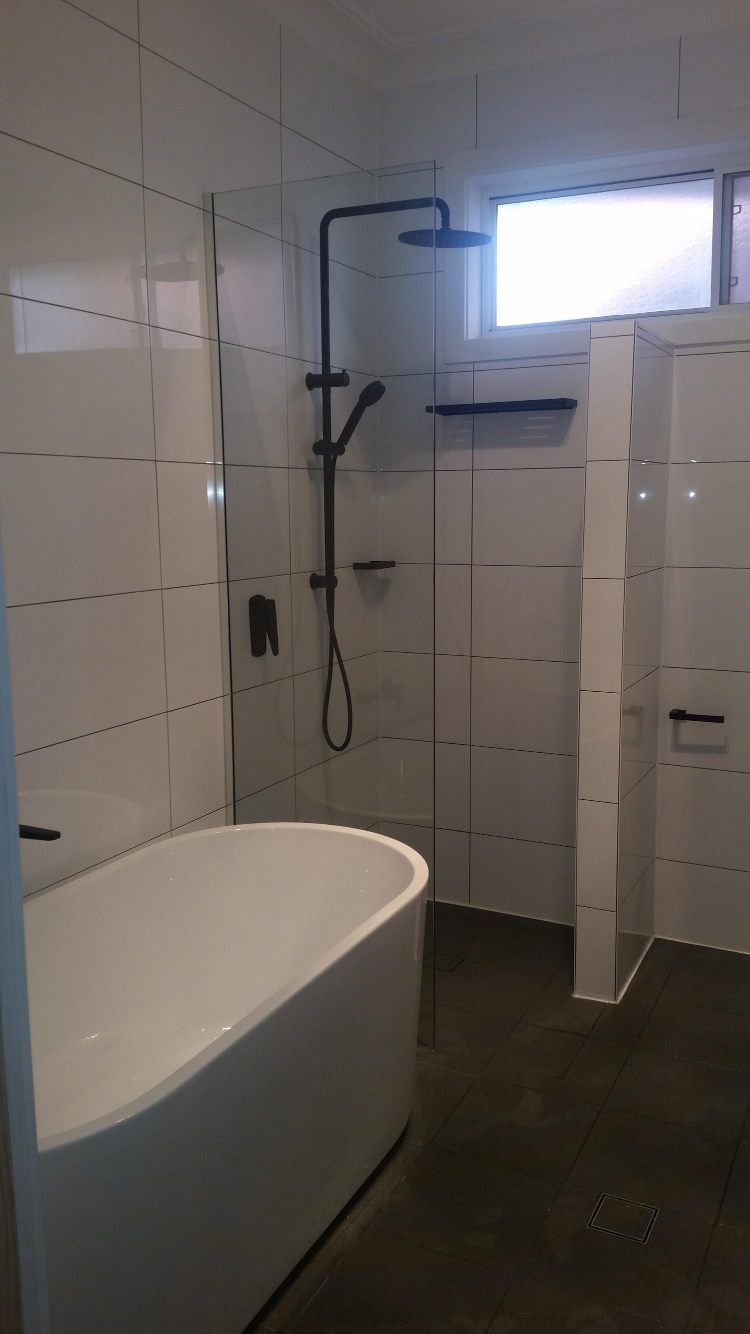 Bathroom Renovation Newcastle bathroom renovation at northcott drive kotara newcastle