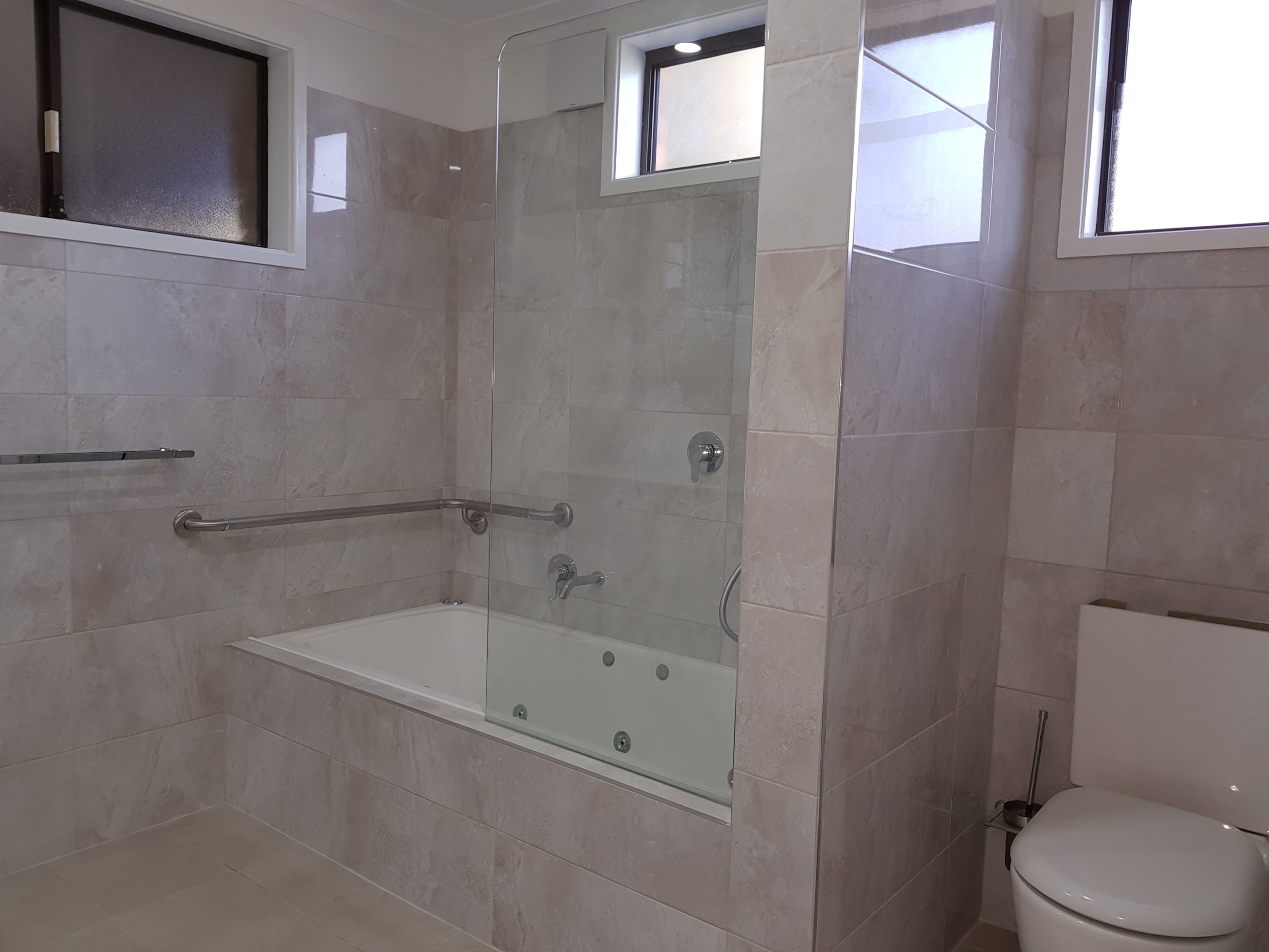 Bathroom renovation in east maitland after it was completly renovated