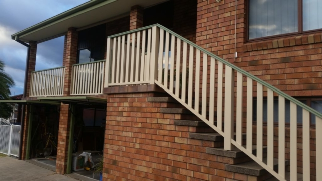 Handrail Repair at Balmoral Close Elermore Vale
