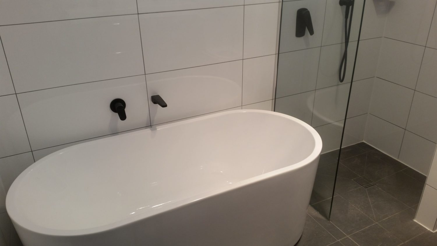 Full Bathroom Renovation at Northcott Drive Kotara Newcastle